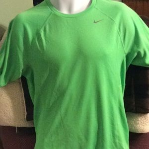 Nike running dry fit shirt, size S